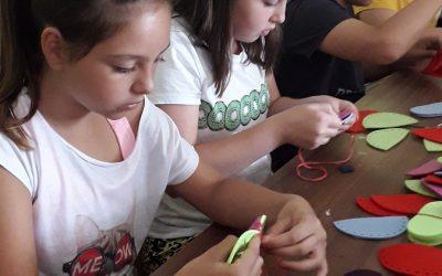Šestošolci na kulturnem dnevu v Tržiškem muzeju