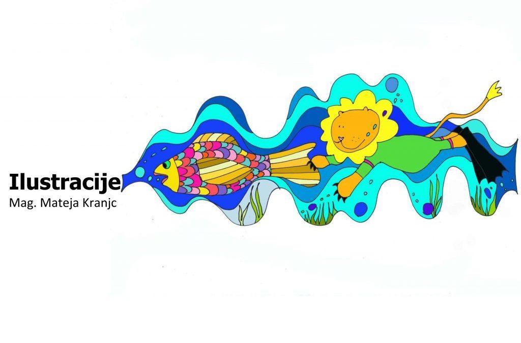 Ilustracije – avtorska razstava mag. Mateje Kranjc