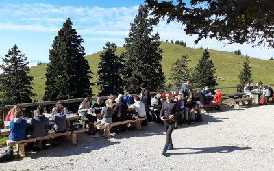 Utrinki s športnega dne 9. razreda – Mala planina