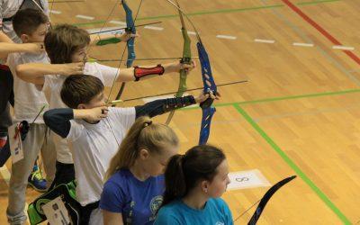Uspeh učenca na Šolskem dvoranske državnem prvenstvu v lokostrelstvu