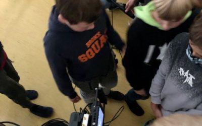 Filmska delavnico pri obveznem izbirnem predmetu FILMSKA VZGOJA za 7.razred